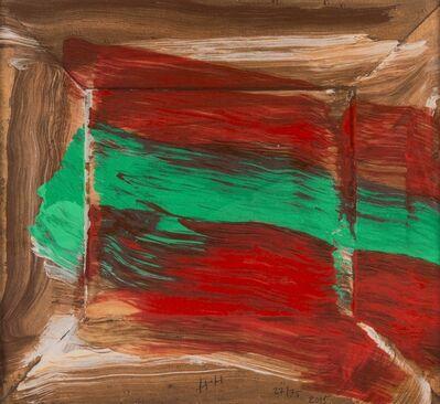 Howard Hodgkin, 'Red Flowers (Not in Heenk)', 2015