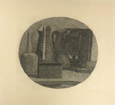 Giorgio Morandi, 'Natura morta con sette oggetti in un tondo ', 1945