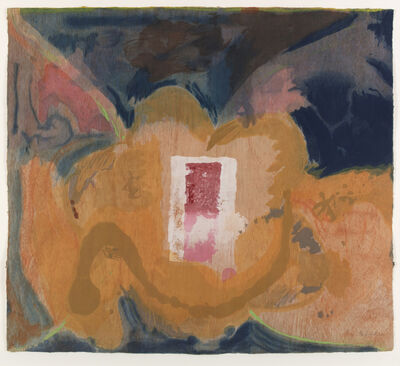 Helen Frankenthaler, 'Tales of Genji V (only sold as part of the complete suite of six woodcuts)', 1998