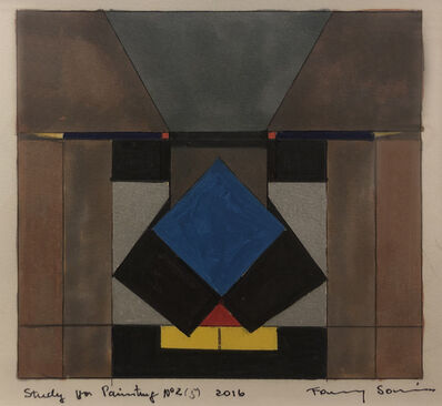 Fanny Sanin, 'Study for Painting No. 2 (5)', 2016