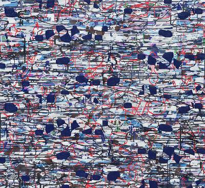 Amy Ellingson, 'Variation (blue, grey, black)', 2021