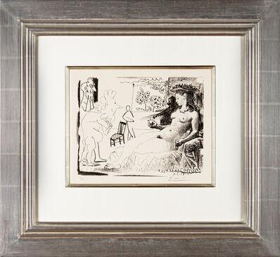 Pablo Picasso, 'La Femme au singe', 1954