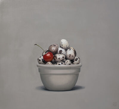 Jonathan Dalton, 'Cherry and Quail Eggs', 2019