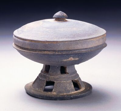 'Pedestal Cup with Lid', 57 BCE - 935 CE