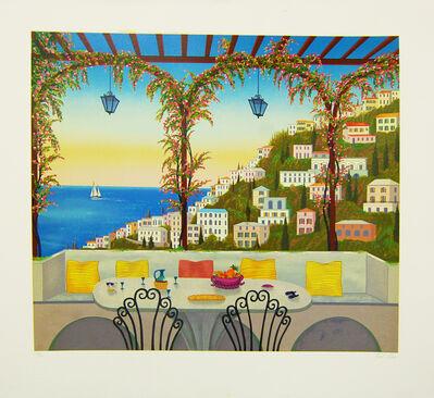 Fanch Ledan, 'Amalfi Coast', 1989