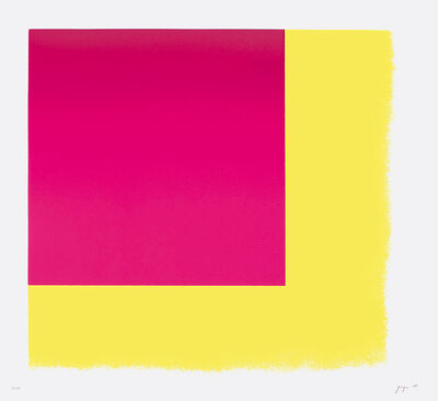 Rupprecht Geiger, 'Münchner Rot I', 2005