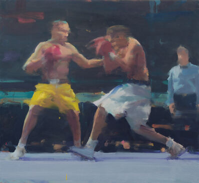 David Shevlino, 'Two Boxers'