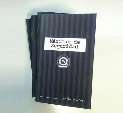 Jhafis Quintero, 'Maximas de seguridad', 2014