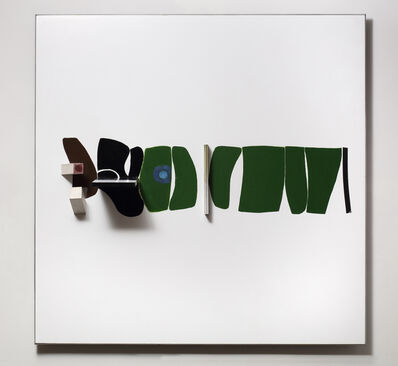 Victor Pasmore, 'Points of Contact, Green Development', 1966