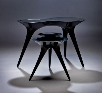 Timothy Schreiber, 'Black Ice Tables', 2014