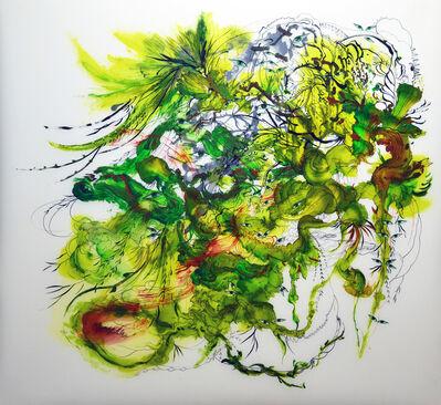 Jiha Moon, 'Kudzu, Invaders Green 1', 2017