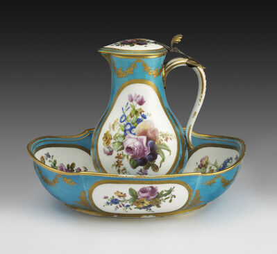 Sèvres Porcelain Manufactory, 'Water Jug and Basin with Flowers and Fruit', 1776