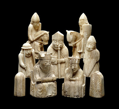 'The Lewis Chessmen', ca. 1150-1200