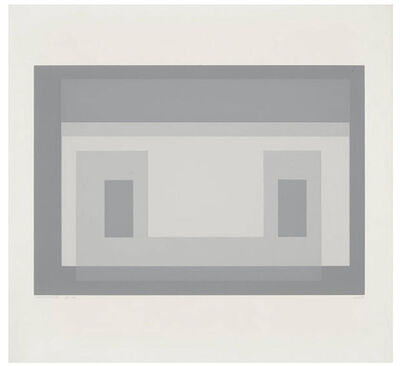 Josef Albers, 'Variant 3, from Ten Variants', 1967
