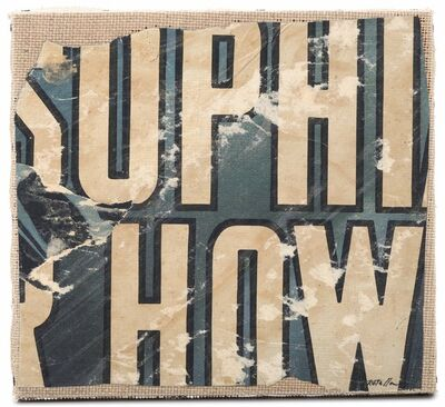 Mimmo Rotella, 'How', 1960