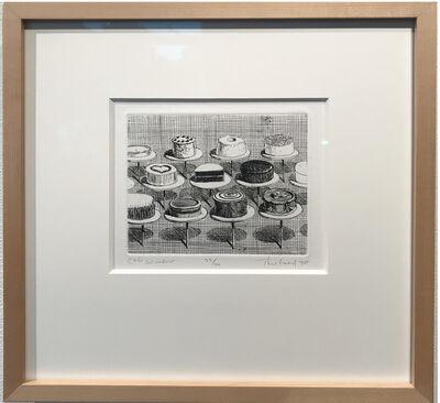 Wayne Thiebaud, 'Cake Window 1964 (from the Delights Portfolio)', 1964
