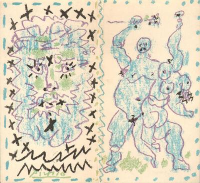 Pablo Picasso, 'Couverture pour un Catalogue', 1956