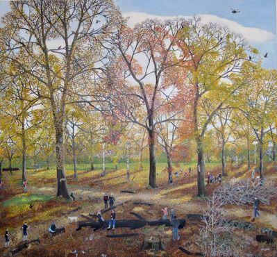 Emma Haworth, 'Autumn Woods', 2020