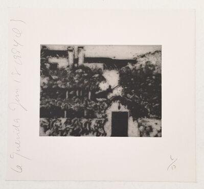 Donald Sultan, 'La Guerida (a)', 1994