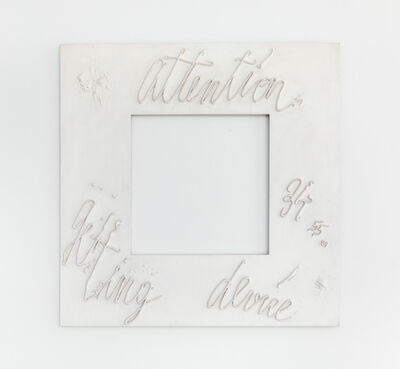 Mary Bauermeister, 'Attention getting device (for Nam June Paik)', ca. 1965