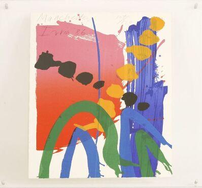 Albert Irvin RA, 'MANCHESTER', 1986