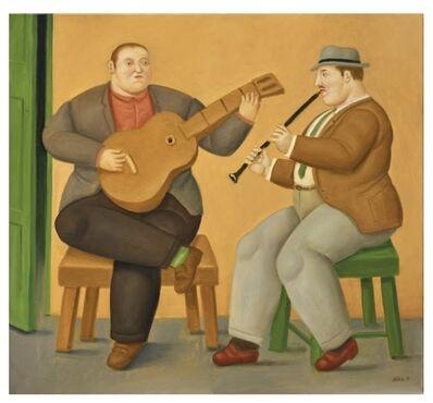 Fernando Botero, 'Musicians', 2019