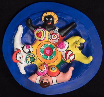 Niki de Saint Phalle, 'La fontaine aux quatre nanas', 1991