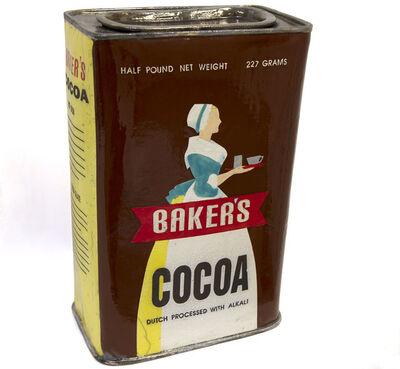 Karen Shapiro, 'Baker's Cocoa Tin', 2019