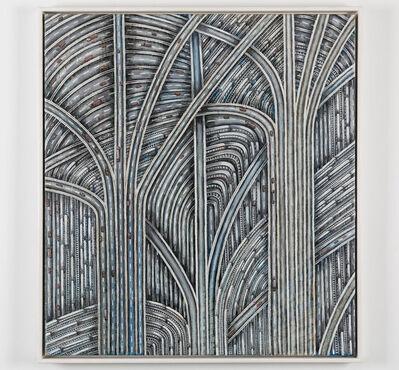 Thomas Bayrle, 'Gotischer Schinken (Gothic Daub)', 1980-1984