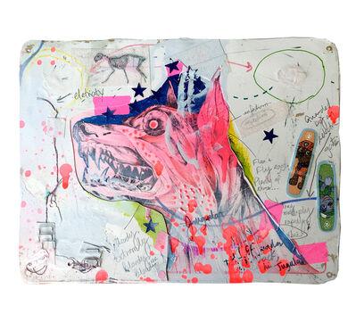 Lavar Munroe, 'Beware of the Dog II', 2017