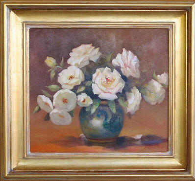 Jacqueline Fowler, 'White Roses', ca. 2017