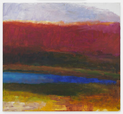 Wolf Kahn, 'A Blue Pond', 1990