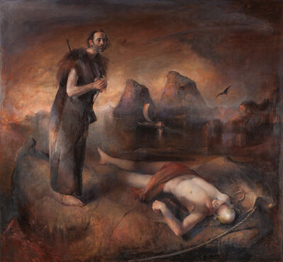 Odd Nerdrum, 'Father Finding Son', 2015