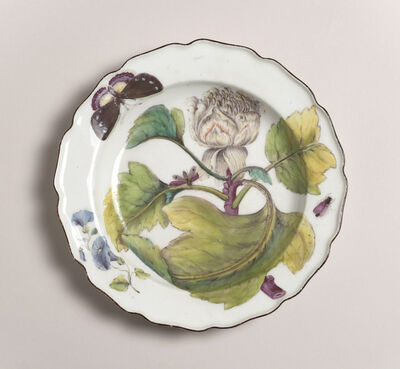 Chelsea Porcelain Factory, 'Botanical ', 1752-1756
