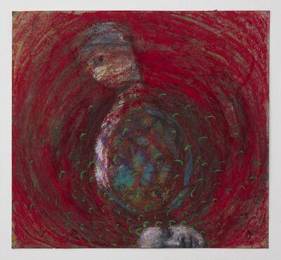 Alexandra Wiesenfeld, 'red head green buzz', 2017