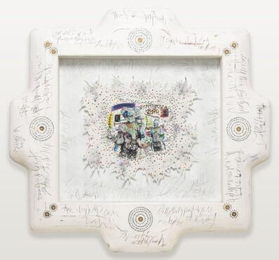 Ashley Bickerton, 'ANWWLB 1', 2011