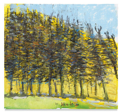 Wolf Kahn, 'Pine Row', 2018