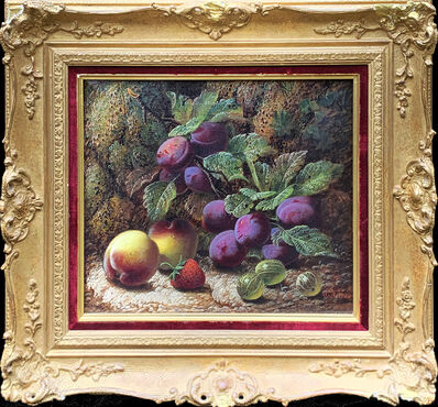 Oliver Clare, 'Still Life of Fruits (Pair)', 19th Century
