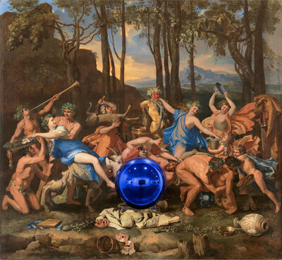 Jeff Koons, 'Gazing Ball (Poussin The Triumph of Pan)', 2015-2016
