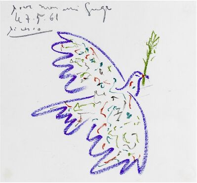 Pablo Picasso, 'Colombe', 1961