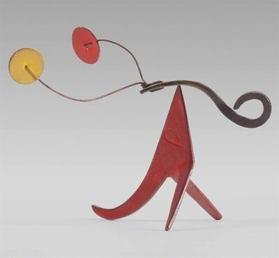 Alexander Calder, 'Red and Yellow Antlers'