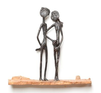 Ruth Bloch, 'Couple in Love', 2019