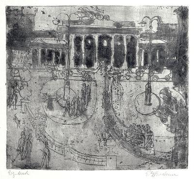 Ernst Ludwig Kirchner, 'Brandenburger Tor, Berlin', 1929