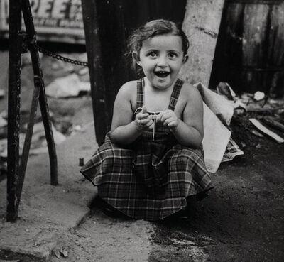 Joe Schwartz, 'Slum Child; Falling Leaf Ave, So. San Gabriel, California; and 9th Street Bus Stop'