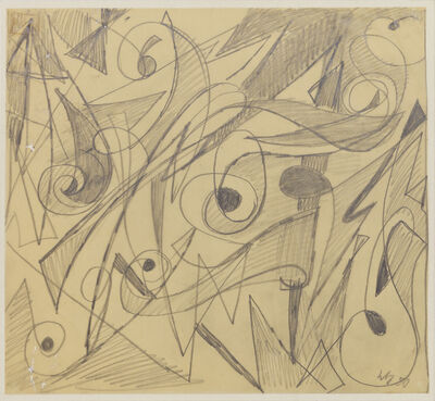 Ernst Wilhelm Nay, 'Untitled', 1950