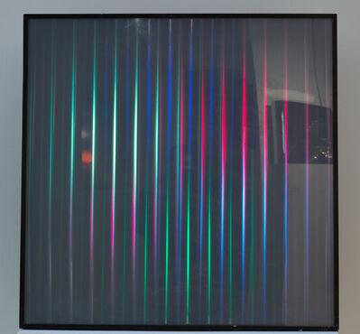 Gregorio Vardánega, 'Déplacement chromatique de lignes', 1964