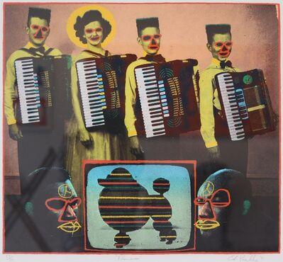 Ed Paschke, 'Flamenco', 1991