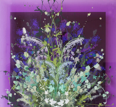 Cara Enteles, 'Purple Garden', ca. 2018
