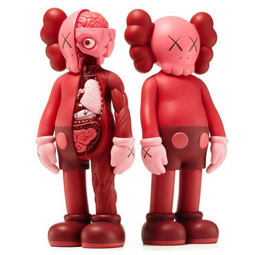 KAWS, 'KAWS Red Blush companions (complete set of 2)', 2016