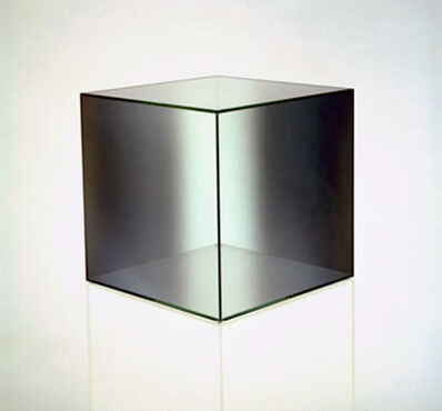Larry Bell, 'Cube #7 (Green / Clear)', 2006